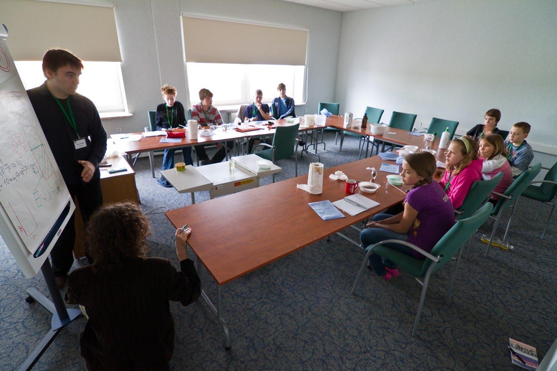 Obóz naukowy KFnrD w Serocku